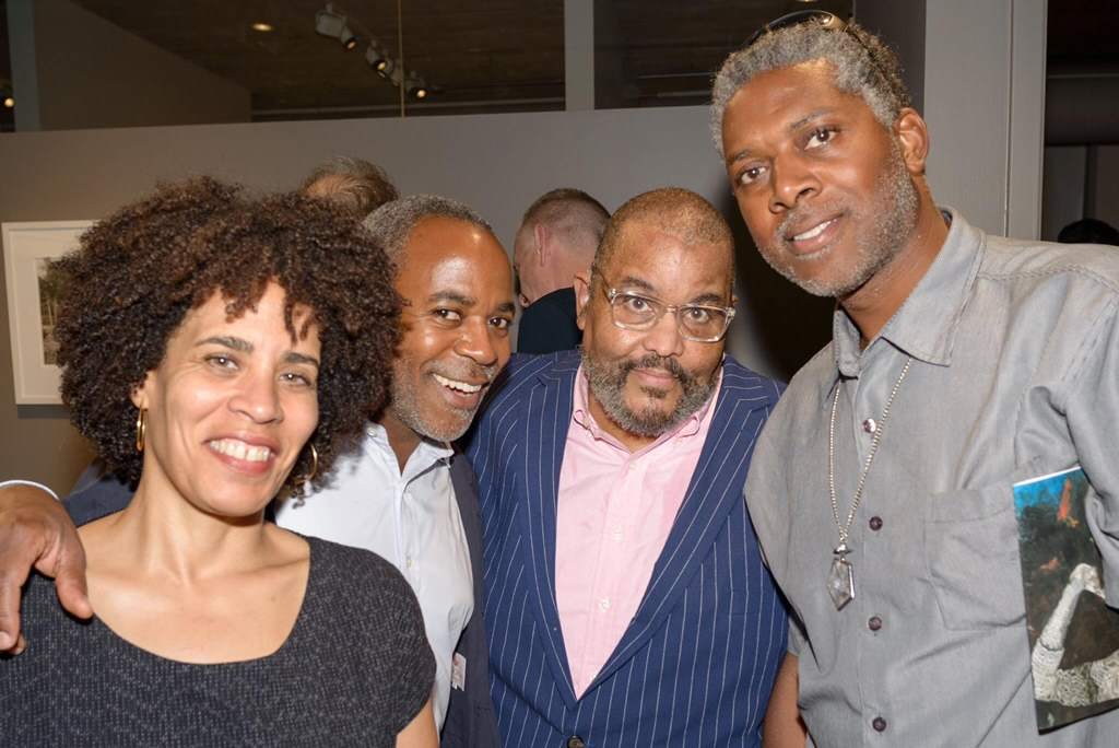 In Chicago with Arnold Kemp, Dawoud Bey, and Bernard Williams